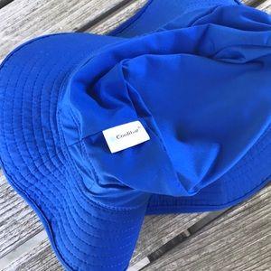 Coolibar Accessories - Coolibar Sun Water Hat Royal Blue Adjustable